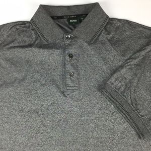 Hugo Boss Men's Golf Polo Size XL Dark Grey